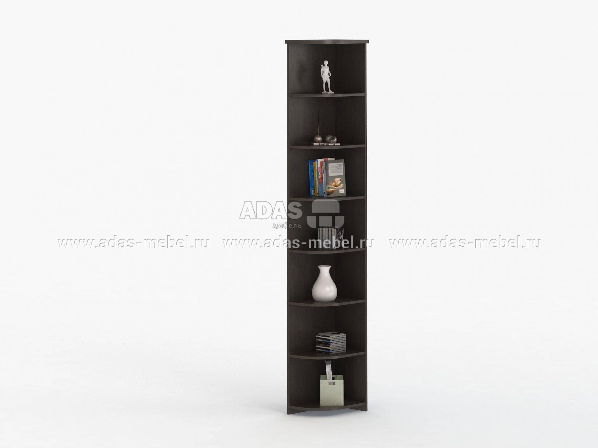 Стеллаж угловой соло 006 дешево от фабрики васко в интернет .